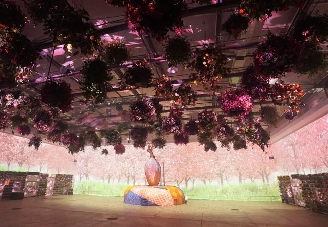 花とデジタルのアートショー1.