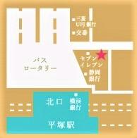 ※写真:湘南平塚店MAP