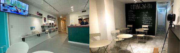 ▲店内・カフェスペース
