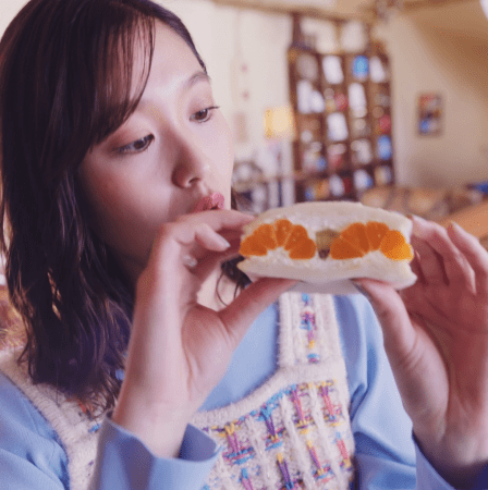 新WEB CM 「山盛り果物篇」