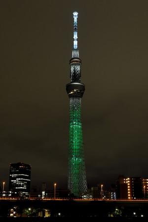 SDGs目標3「すべての人に健康と福祉を」     (C)TOKYO-SKYTREE