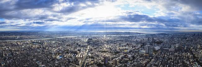 天望からの眺望(イメージ)(C)TOKYO-SKTYREE