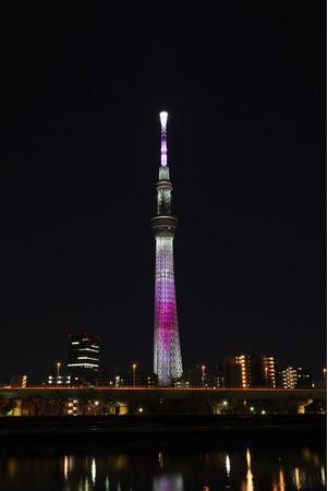 特別ライティング「舞」(イメージ)(C)TOKYO-SKYTREE