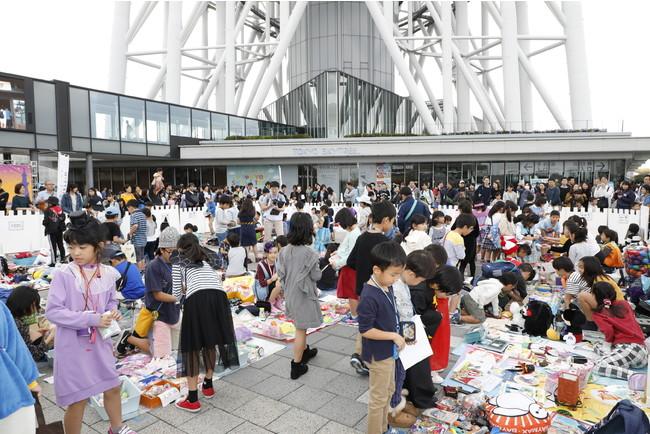 キッズフリーマーケット(過去の様子)(C)TOKYO-SKYTREETOWN
