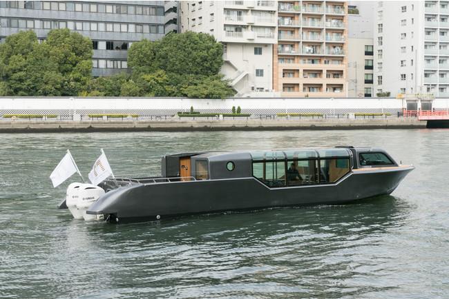 東京ウォータウェイズ クルーズ船(イメージ)
