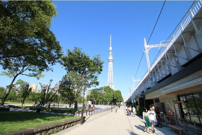 東京ミズマチ ウエストゾーン (C)TOKYO-SKYTREETOWN