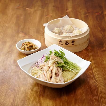 冷製鶏スープ麺セット(鼎泰豊)¥1,925
