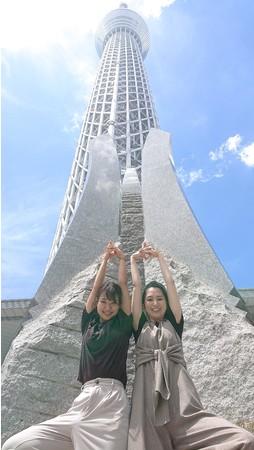 撮影場所:東京スカイツリータウン1階 ソラマチひろば (C)TOKYO-SKYTREE