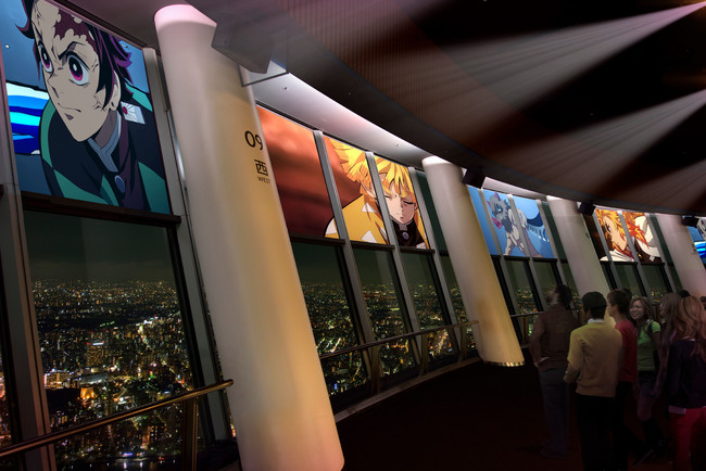 SKYTREE ROUND THEATER(R) 特別上映 (C)吾峠呼世晴/集英社・アニプレックス・ufotable (C)TOKYO-SKYTREE