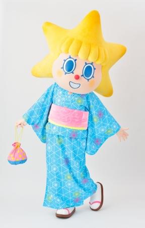 ▲浴衣姿のソラカラちゃん(昨年のイメージ)(C)TOKYO-SKYTREE