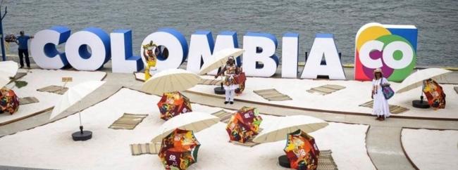 コロンビアに関するプロモーションブース Colombia en Vivo-コロンビアを体験!(会場イメージ)