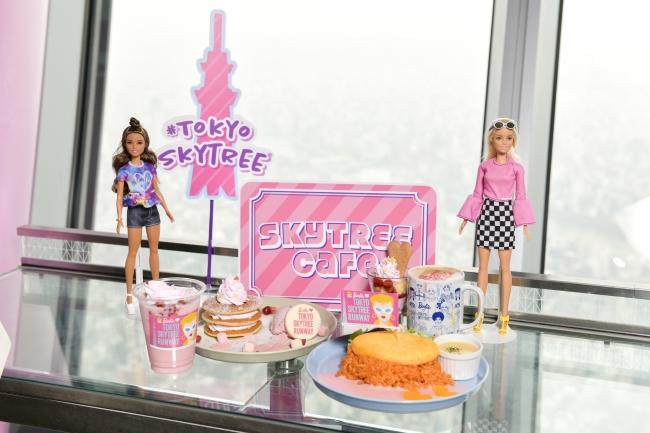カフェメニュー (C) 2019 Mattel. All Rights Reserved. (C)TOKYO-SKYTREE
