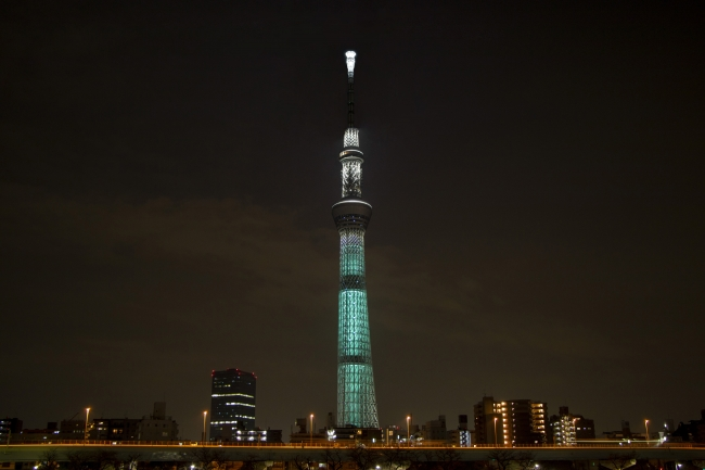 『SKYTREE(R) in MIDGAR SPECIAL LIGHTING』(イメージ)