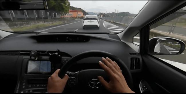 急な車線変更に対してのクラクション