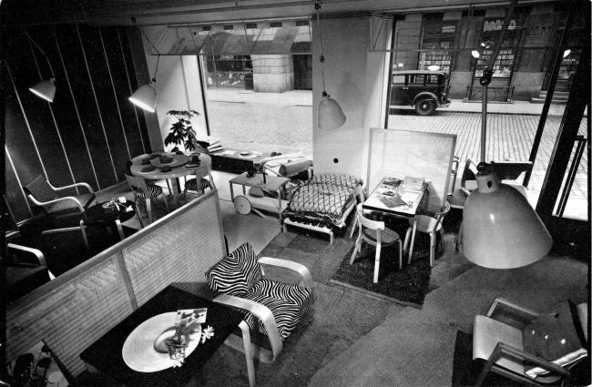 1936年ヘルシンキのアルテックストア