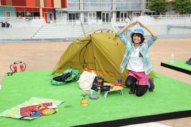 桜花さん キャンプスタイル