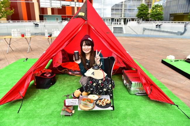 natsu campさん キャンプスタイル