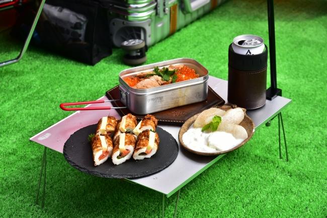 natsu campさん キャンプ飯