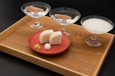 日本酒3種飲み比提供べイメージ