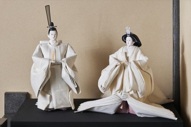 「令和雛」/新元号「万葉集」ゆかりの麻を用いたひな人形