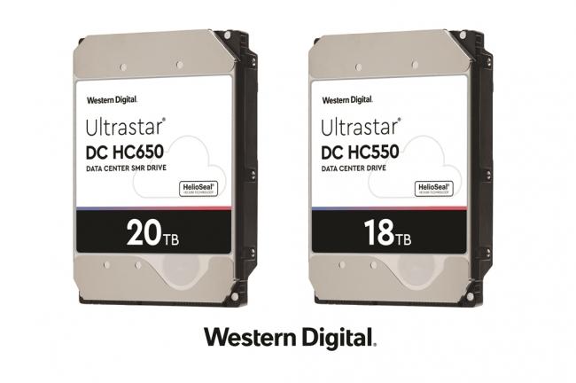 20TB Ultrastar(R) DC HC650 SMR HDD・18TB Ultrastar(R) DC HC550 CMR HDD