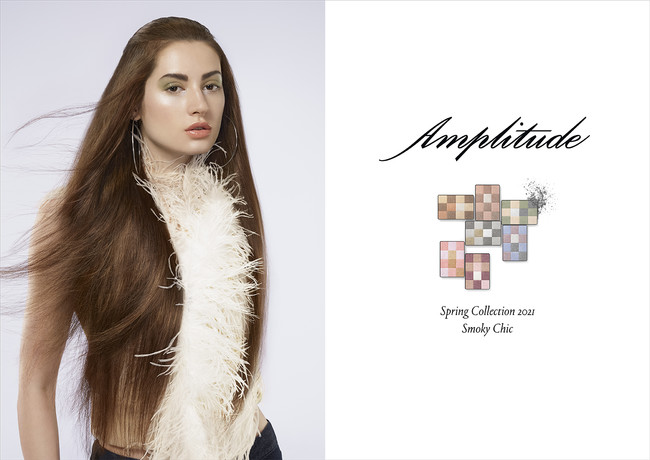 Amplitude Spring Collection 2021 モデルビジュアル