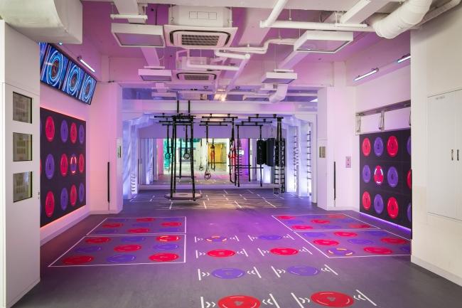 最先端トレーニングが可能なファンクショナルトレーニングフィールド(ティップ.クロス TOKYO 渋谷)
