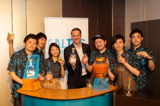 「Cocktailante OBORO」のオーナーバーテンダー 山川俊太氏によるテキーラ「オルメカ アルトス」 を使ったサステイナブルなカクテルメイキング