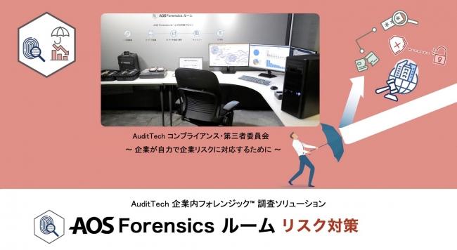 AOS Forensics ルーム AuditTech リスク対策とは