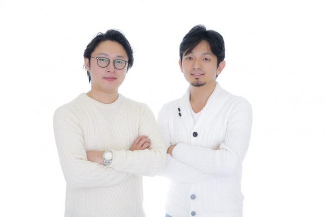 写真左:代表取締役社長 執行役員CEO 結城啓太  右:代表取締役副社長 執行役員CVO 小梨明人