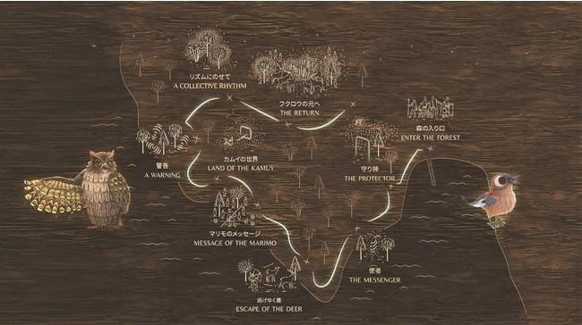 ゾーンマップ (C)MOMENT FACTORY