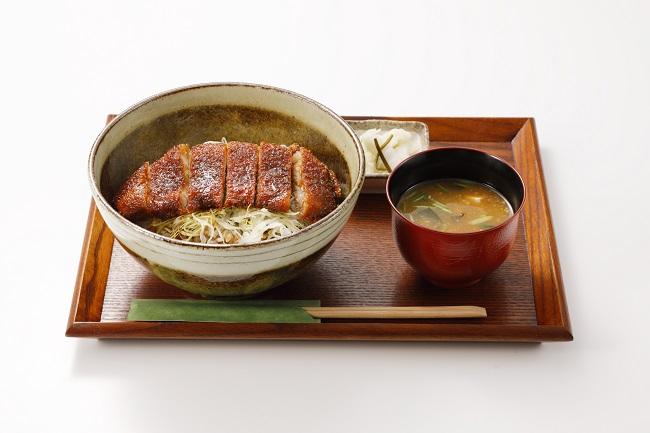なつかしのソースカツ丼 800円