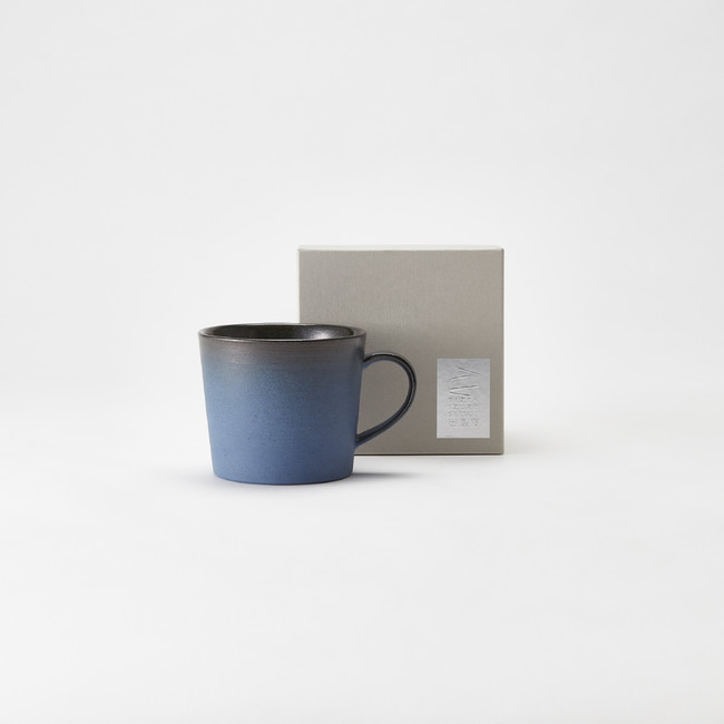 マグカップ群⻘ (岡山県備前・出製陶) 4,000 円