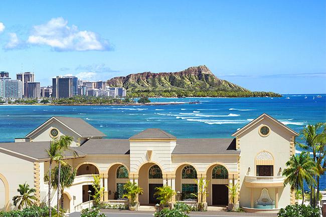 ハワイ人気結婚式場 ザ・テラス バイ・ザ・シー
