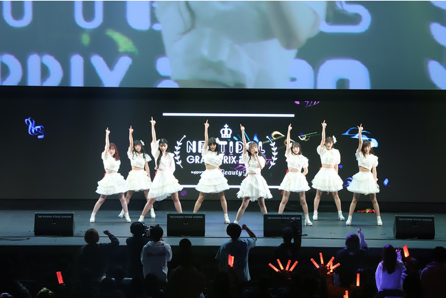 「NEXT IDOL GRANDPRIX 2020 supported by Beauty Park」グランプリを受賞したPeel the Apple
