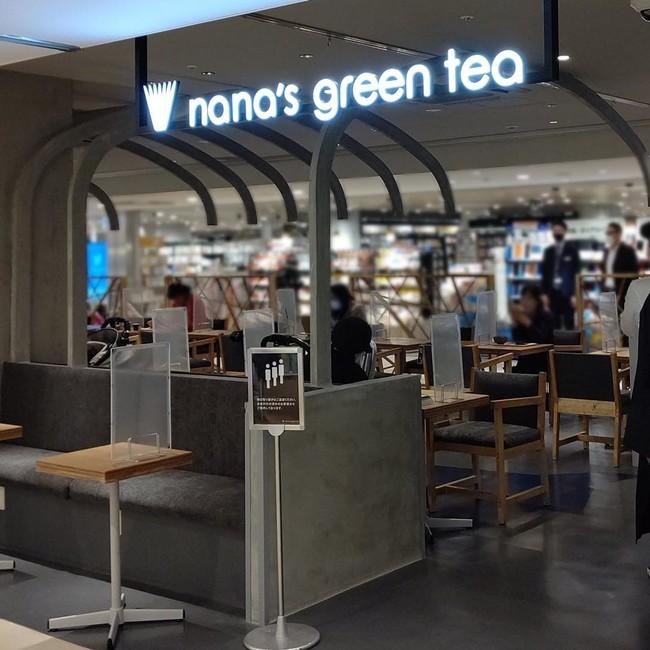 nana's green tea シャポー市川店 オープン時の店内の様子
