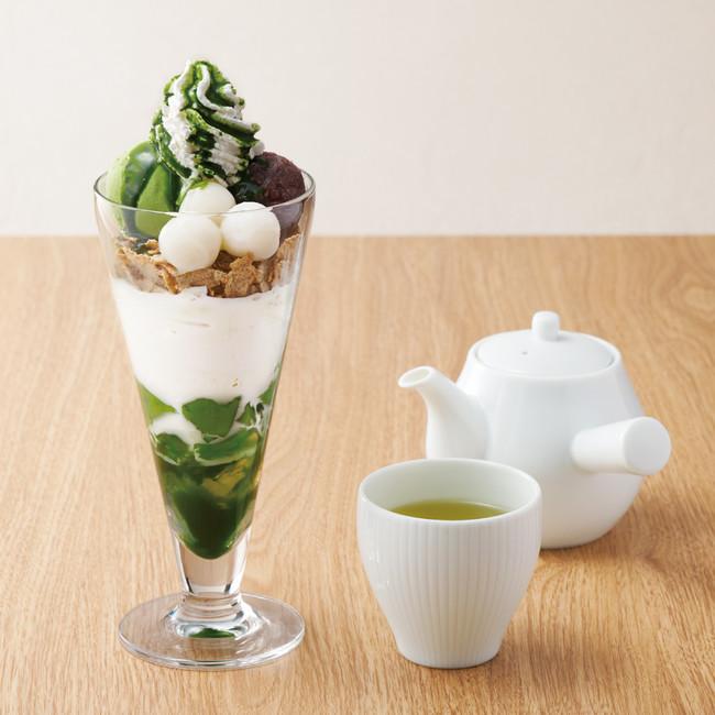 抹茶白玉パフェ 940円