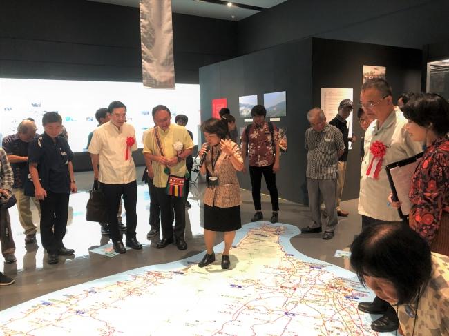 展覧会「台湾展~黒潮でつながる隣(とぅない)ジマ~」会場の様子
