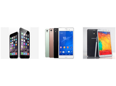 iPhone 6/6 Plus、Xperia Z3、Galaxy Note 4、最も注目される2014秋冬モデルまとめ!
