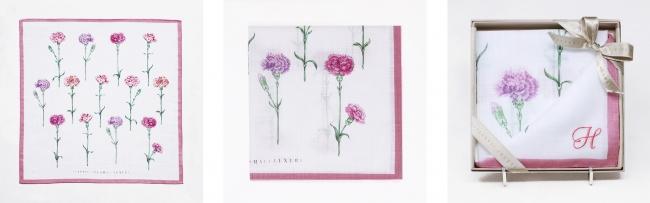 カラー:ピンク 右)刺繍代別途500円(税抜)