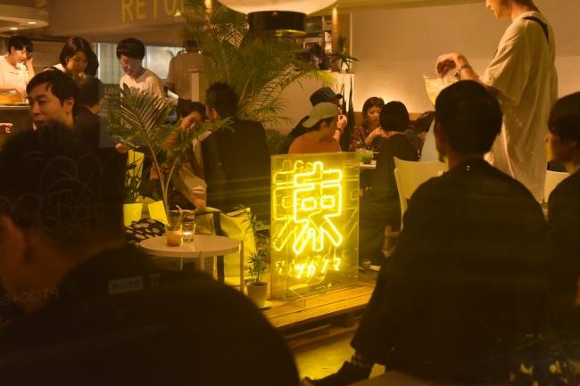 """渋谷で4か月間限定でオープンしているツ""""カノマノフードコート""""にて「のん」は現在出店中。"""