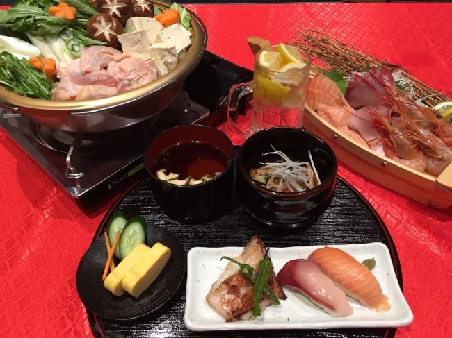 日本の食文化をご堪能いただけます