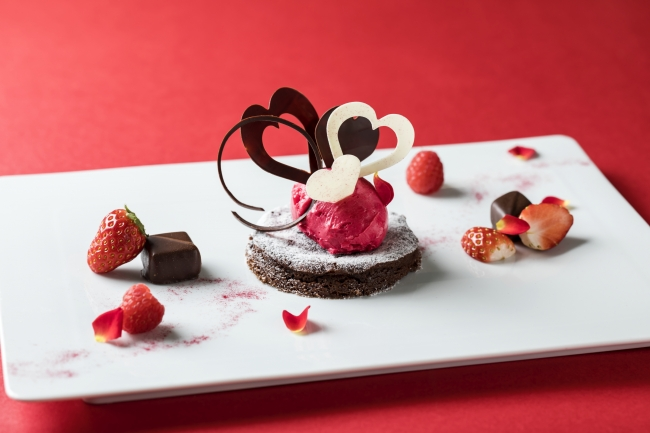 デザート:パティシエ特製チョコレートデザート