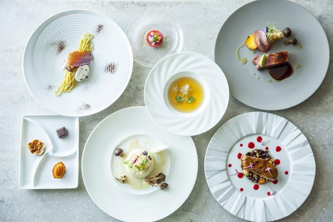 フレンチテイストのコース料理で優雅なひとときを(ディナー ムニュ・ド・シェフ イメージ)