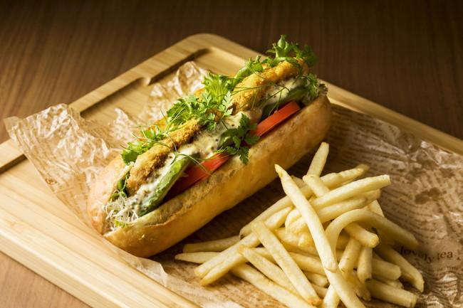 ベジタブル大豆カツとアボカドのサンドウィッチ イメージ