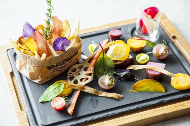 シェフこだわり国産野菜のプレート イメージ