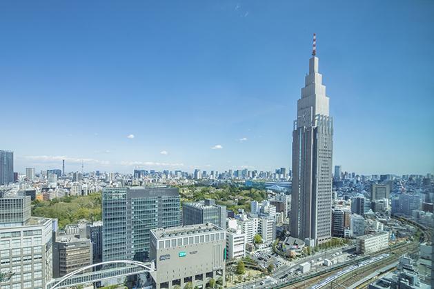 お部屋でダイナミックな東京の景色を堪能