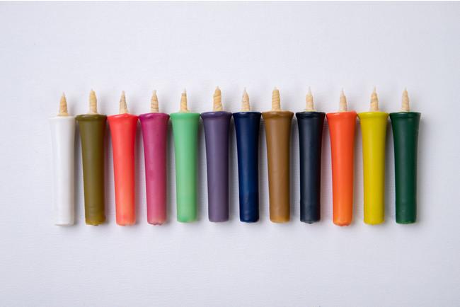 12種類の季節の色と香りを楽しめる