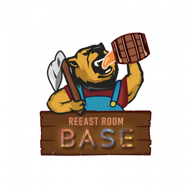 REEAST ROOM BASE ロゴ