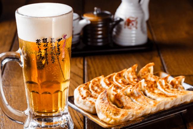 餃子とビールは文化です!